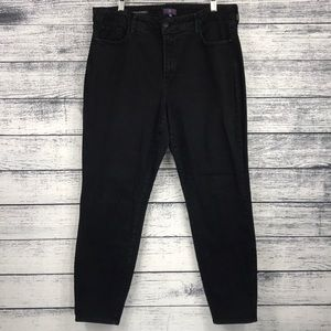 NYDJ Ami Skinny Legging 16W Black Jeans